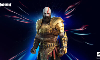 Kratos Armored style fortnite